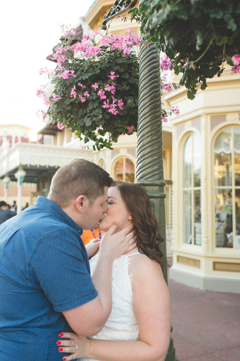 Jaime DiOrio - Magic Kingdom Engagement Session - Epcot Engagement Session - Disney Engagement photos - Magic Kingdom Engagement Photos (52).jpg