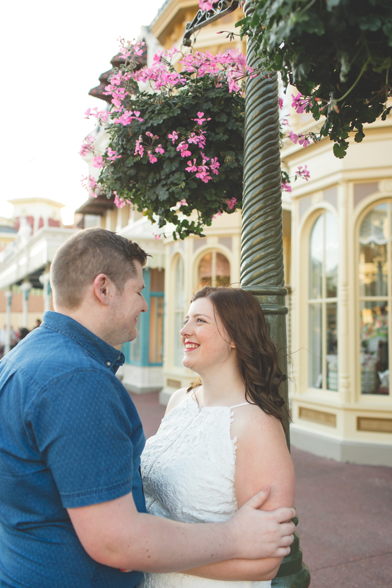 Jaime DiOrio - Magic Kingdom Engagement Session - Epcot Engagement Session - Disney Engagement photos - Magic Kingdom Engagement Photos (53).jpg