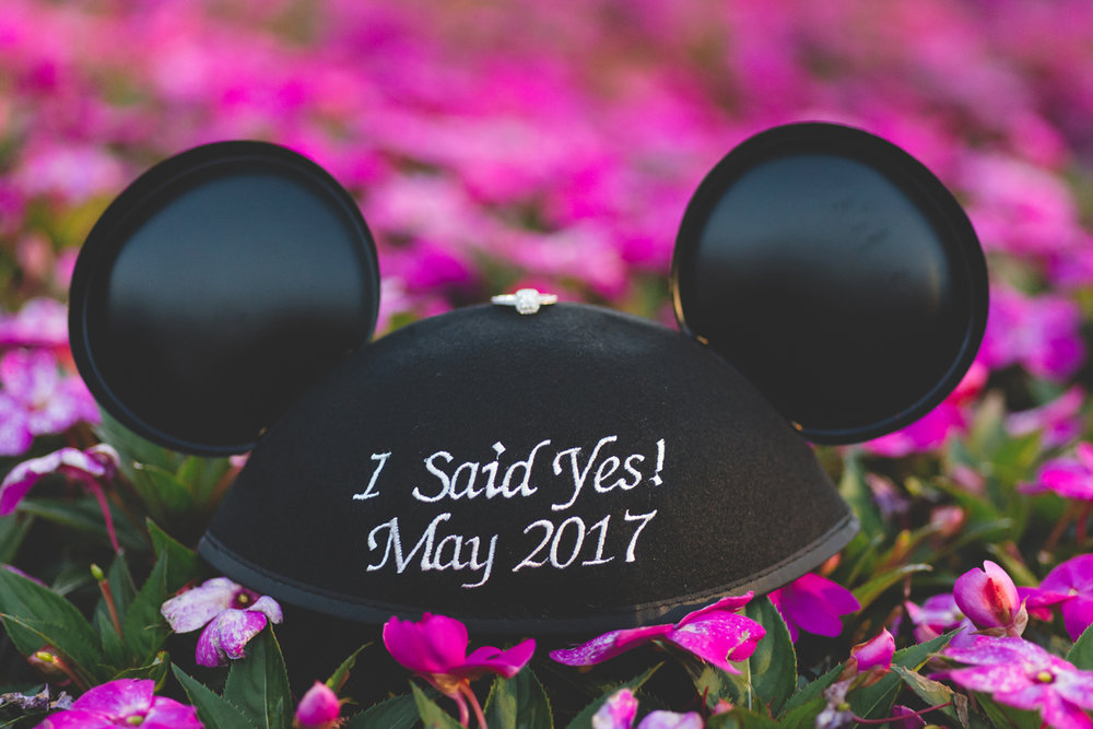 Jaime DiOrio - Magic Kingdom Engagement Session - Epcot Engagement Session - Disney Engagement photos - Magic Kingdom Engagement Photos (56).jpg