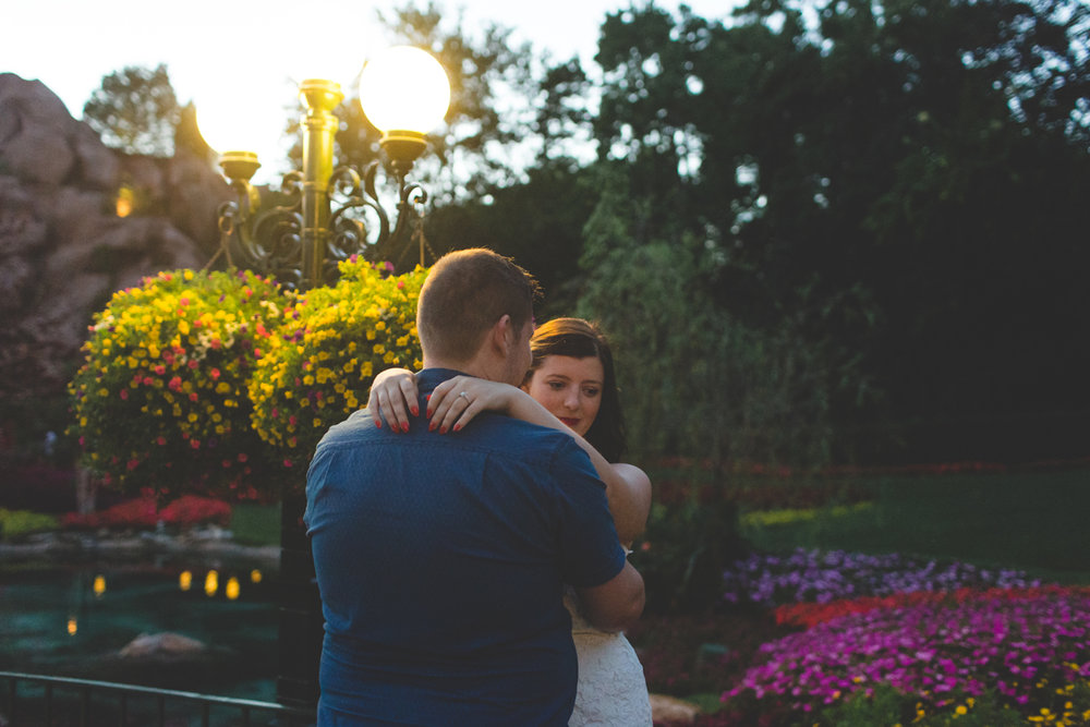 Jaime DiOrio - Magic Kingdom Engagement Session - Epcot Engagement Session - Disney Engagement photos - Magic Kingdom Engagement Photos (60).jpg