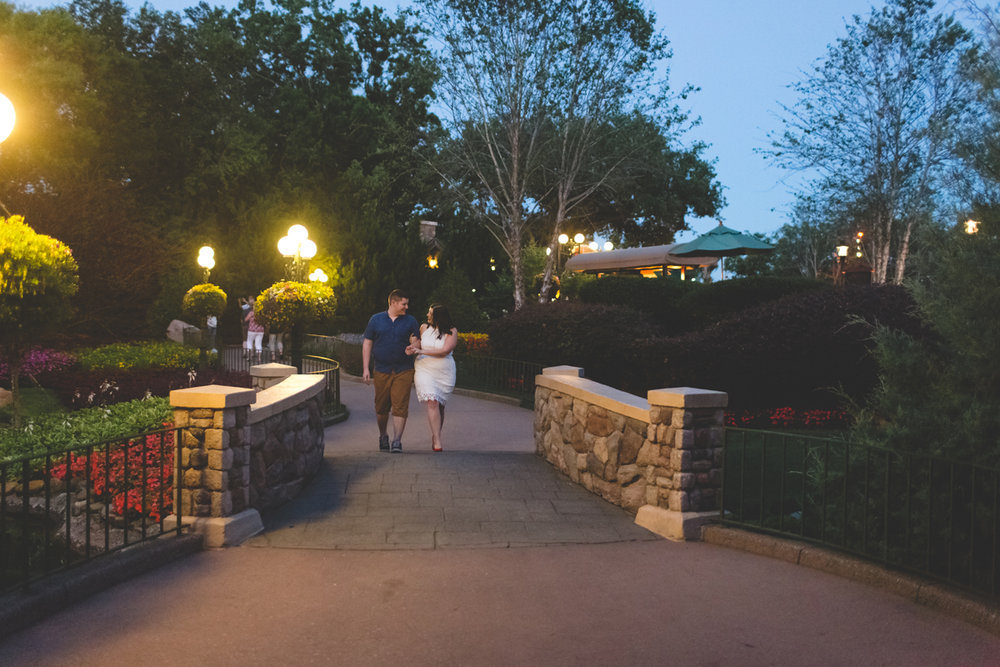 Jaime DiOrio - Magic Kingdom Engagement Session - Epcot Engagement Session - Disney Engagement photos - Magic Kingdom Engagement Photos (61).jpg
