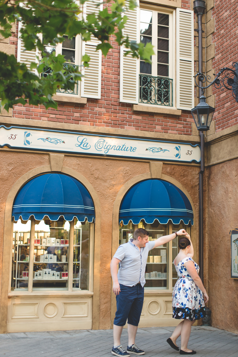 Jaime DiOrio - Magic Kingdom Engagement Session - Epcot Engagement Session - Disney Engagement photos - Magic Kingdom Engagement Photos (95).jpg