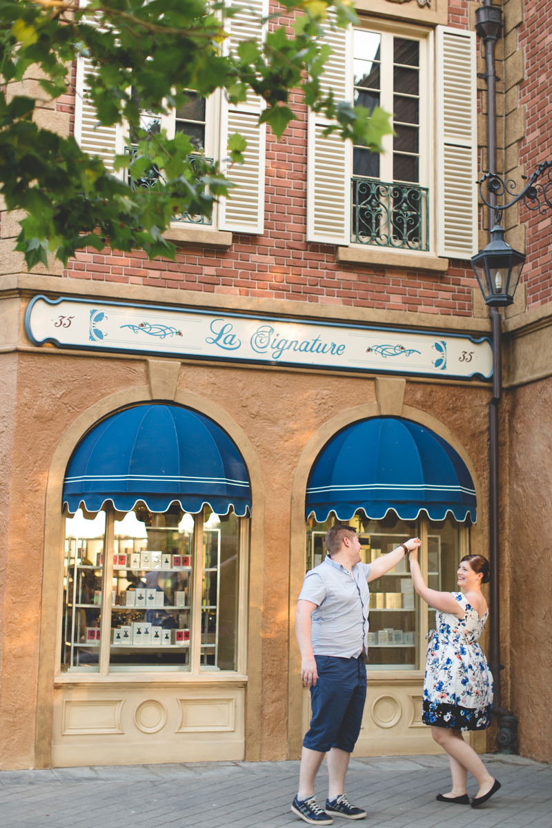 Jaime DiOrio - Magic Kingdom Engagement Session - Epcot Engagement Session - Disney Engagement photos - Magic Kingdom Engagement Photos (96).jpg