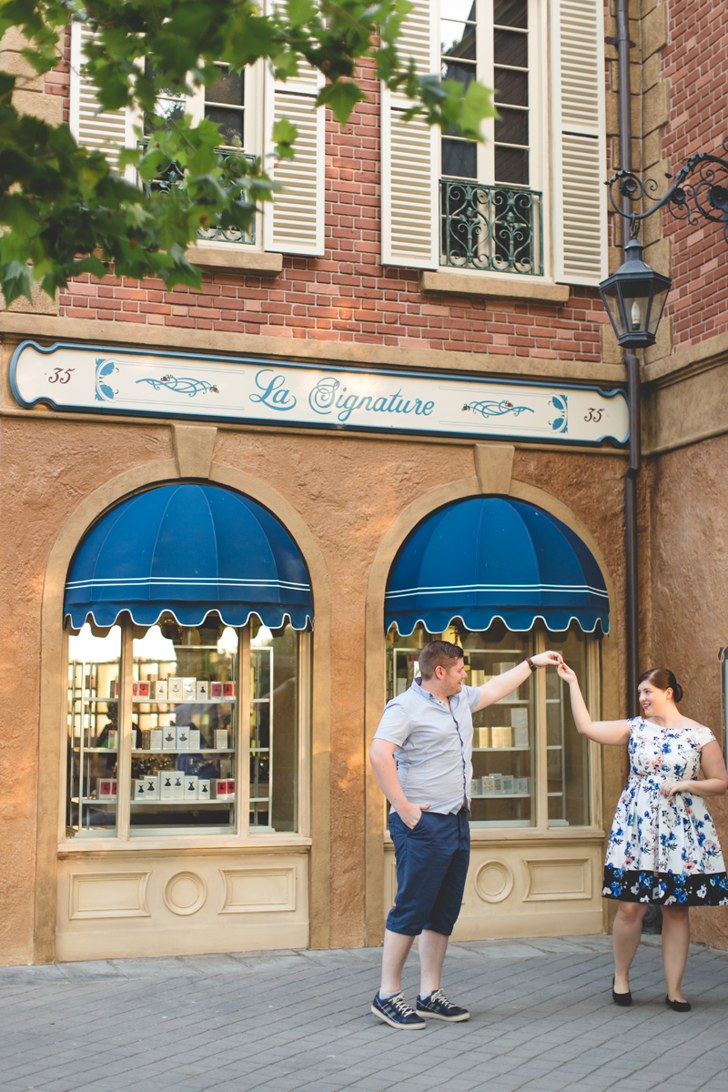 Jaime DiOrio - Magic Kingdom Engagement Session - Epcot Engagement Session - Disney Engagement photos - Magic Kingdom Engagement Photos (97).jpg