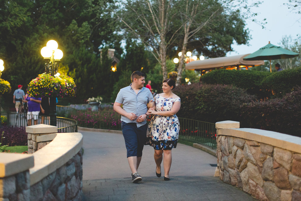 Jaime DiOrio - Magic Kingdom Engagement Session - Epcot Engagement Session - Disney Engagement photos - Magic Kingdom Engagement Photos (123).jpg