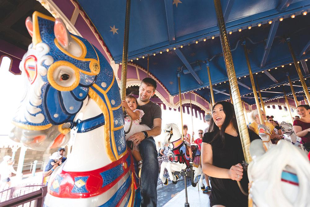 Disney Family Session - Jaime DiOrio Photography - Family on Disney Ride photo - Magic Kingdom Family Session.jpg