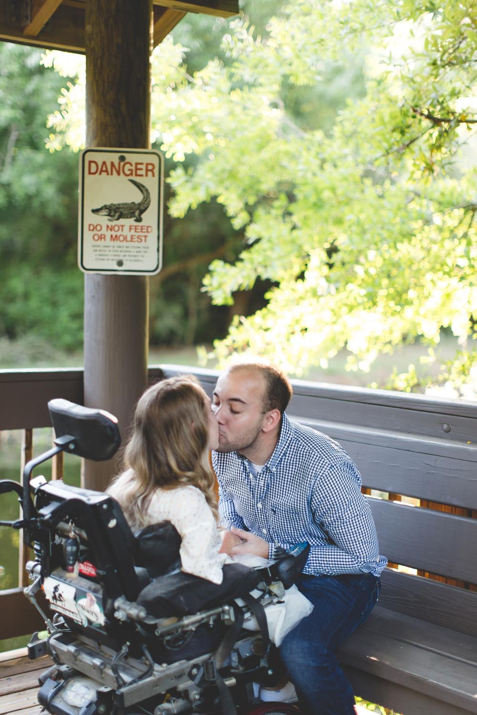 Sawgrass Lake Park Engagement Photographer - Sawgrass Lake Park Engagement session - wheelchair engagement photos - St Pete Engagement Photographer - Destination Orlando Wedding Photographer - Jaime DiOrio (15).jpg