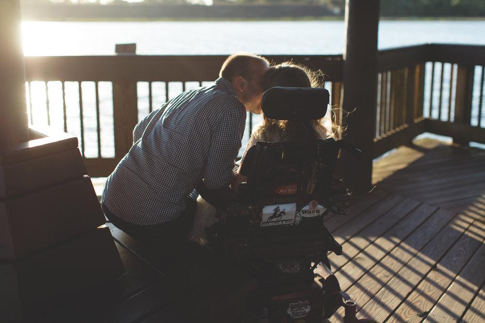 Sawgrass Lake Park Engagement Photographer - Sawgrass Lake Park Engagement session - wheelchair engagement photos - St Pete Engagement Photographer - Destination Orlando Wedding Photographer - Jaime DiOrio (47).jpg