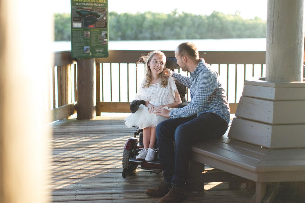 Sawgrass Lake Park Engagement Photographer - Sawgrass Lake Park Engagement session - wheelchair engagement photos - St Pete Engagement Photographer - Destination Orlando Wedding Photographer - Jaime DiOrio (58).jpg