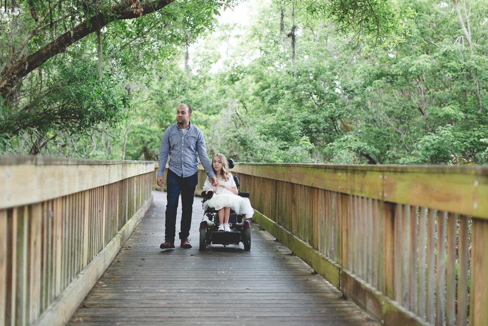 Sawgrass Lake Park Engagement Photographer - Sawgrass Lake Park Engagement session - wheelchair engagement photos - St Pete Engagement Photographer - Destination Orlando Wedding Photographer - Jaime DiOrio (92).jpg