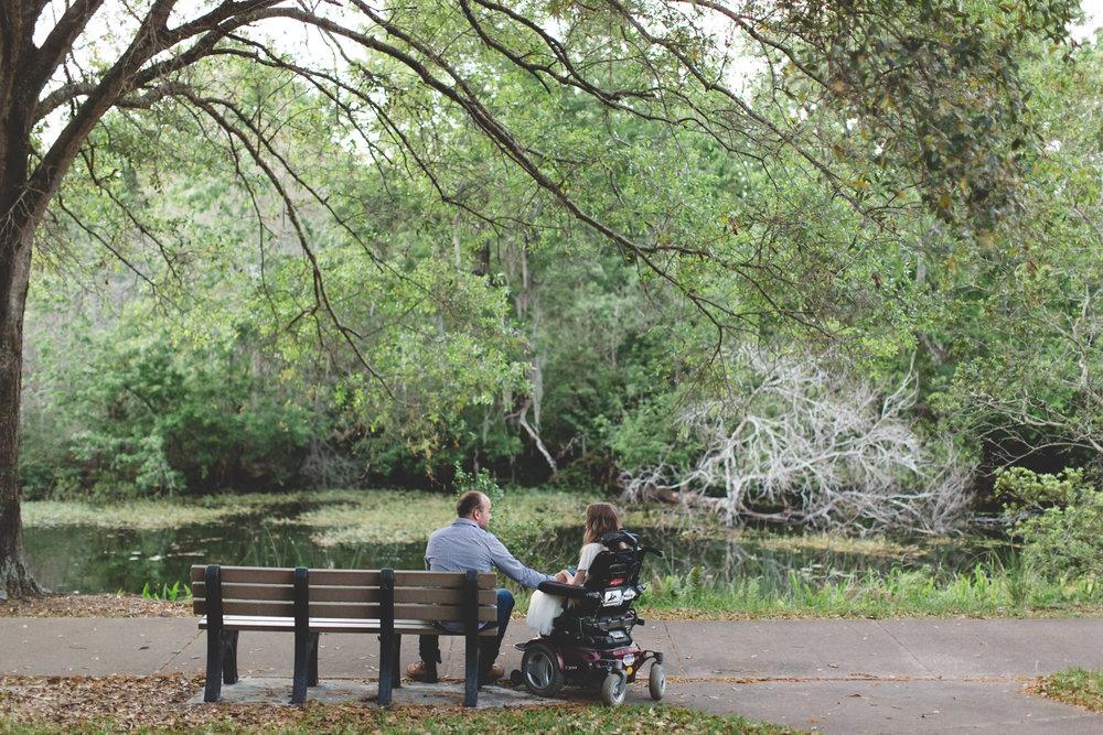 Sawgrass Lake Park Engagement Photographer - Sawgrass Lake Park Engagement session - wheelchair engagement photos - St Pete Engagement Photographer - Destination Orlando Wedding Photographer - Jaime DiOrio (110).jpg