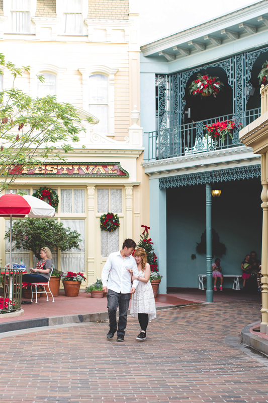 Disney Honeymoon photos - Disney Engagement photos - Magic Kingdom Engagement photographer - Disney engagement photographer - Destination Orlando Wedding Photographer - Jaime DiOrio (7).jpg