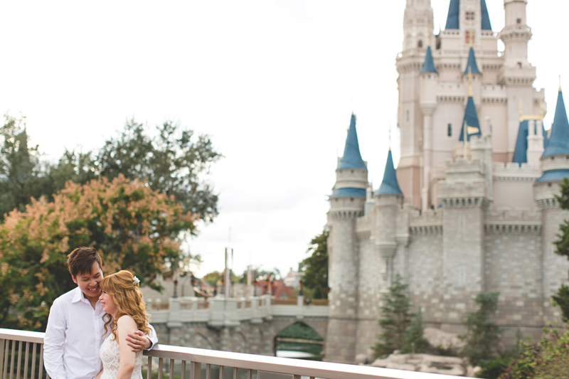 Disney Honeymoon photos - Disney Engagement photos - Magic Kingdom Engagement photographer - Disney engagement photographer - Destination Orlando Wedding Photographer - Jaime DiOrio (14).jpg