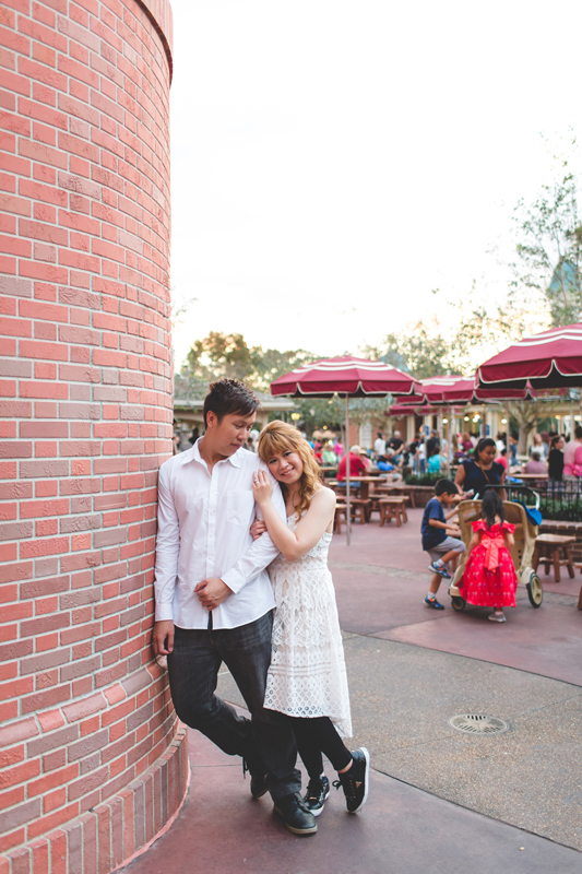 Disney Honeymoon photos - Disney Engagement photos - Magic Kingdom Engagement photographer - Disney engagement photographer - Destination Orlando Wedding Photographer - Jaime DiOrio (69).jpg