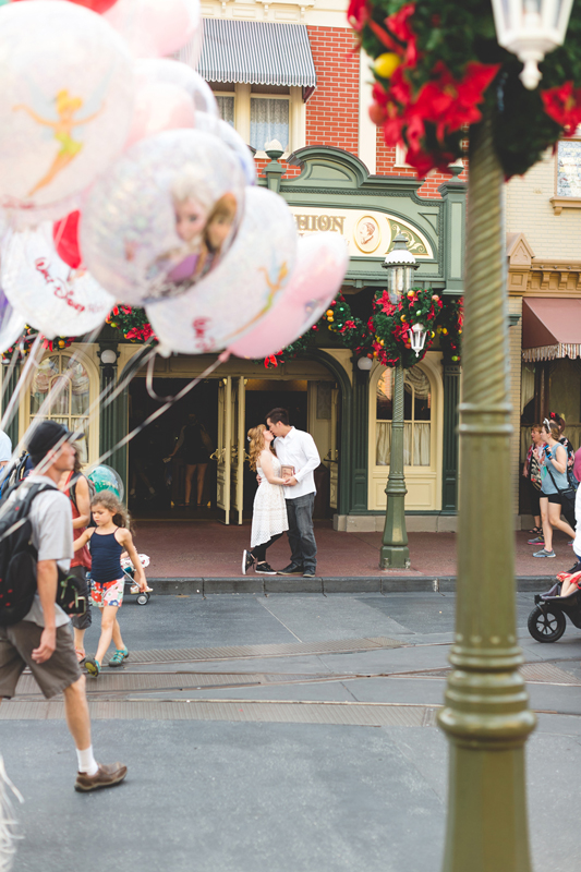 Disney Honeymoon photos - Disney Engagement photos - Magic Kingdom Engagement photographer - Disney engagement photographer - Destination Orlando Wedding Photographer - Jaime DiOrio (85).jpg