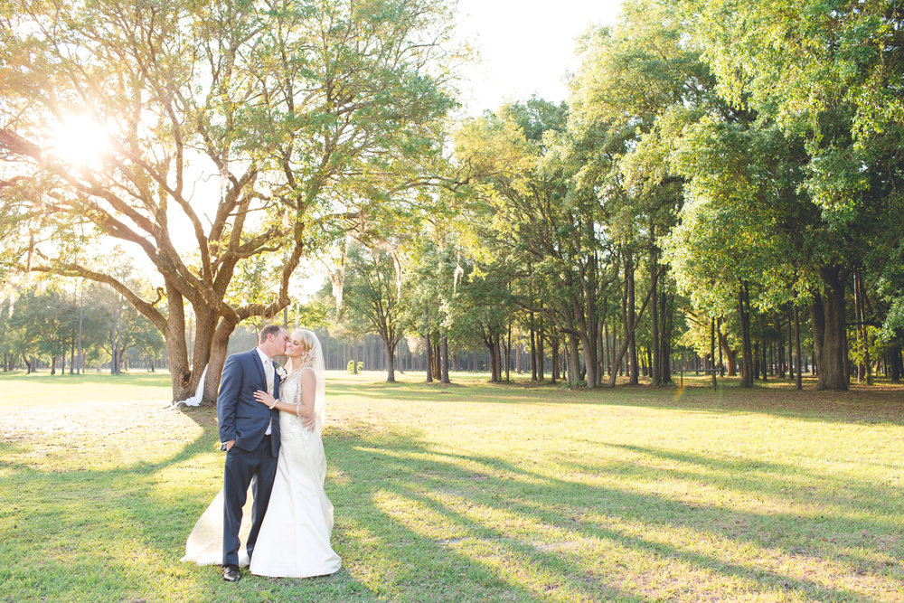 Private Ranch Outdoor Wedding Portrait