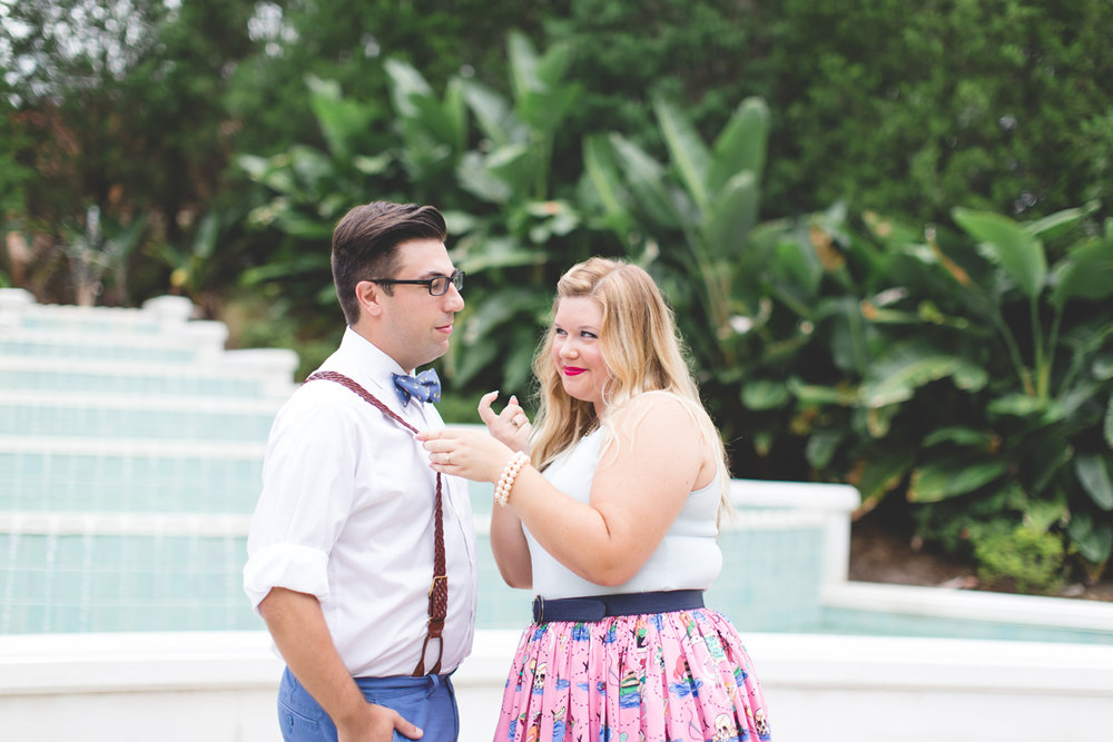 Disney engagement Session - Disney Engagement Photographer - Magic Kingdom Engagement Photos - Jaime DiOrio - Destination Orlando Wedding Photographer (9).jpg