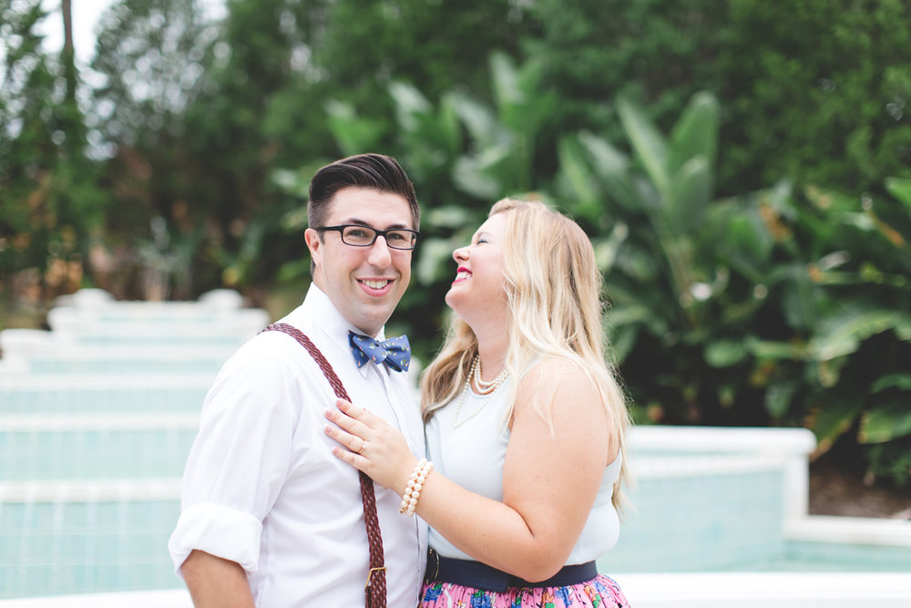 Disney engagement Session - Disney Engagement Photographer - Magic Kingdom Engagement Photos - Jaime DiOrio - Destination Orlando Wedding Photographer (10).jpg