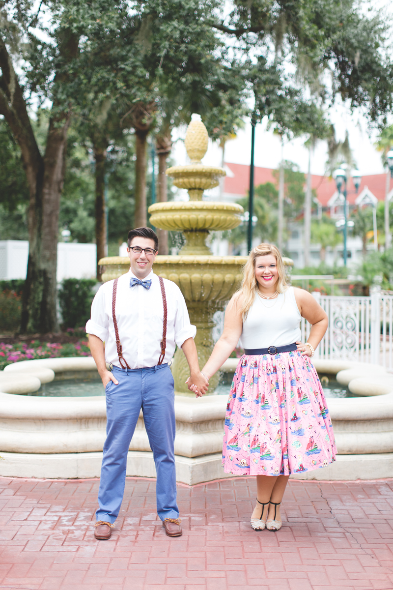 Disney engagement Session - Disney Engagement Photographer - Magic Kingdom Engagement Photos - Jaime DiOrio - Destination Orlando Wedding Photographer (13).jpg