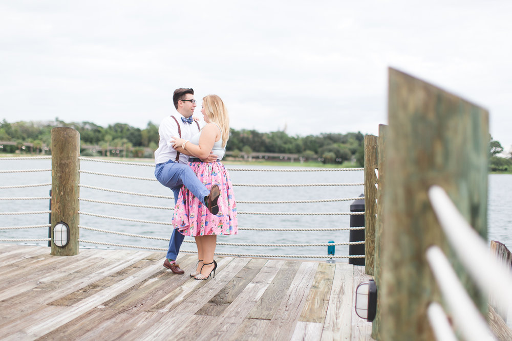 Disney engagement Session - Disney Engagement Photographer - Magic Kingdom Engagement Photos - Jaime DiOrio - Destination Orlando Wedding Photographer (22).jpg