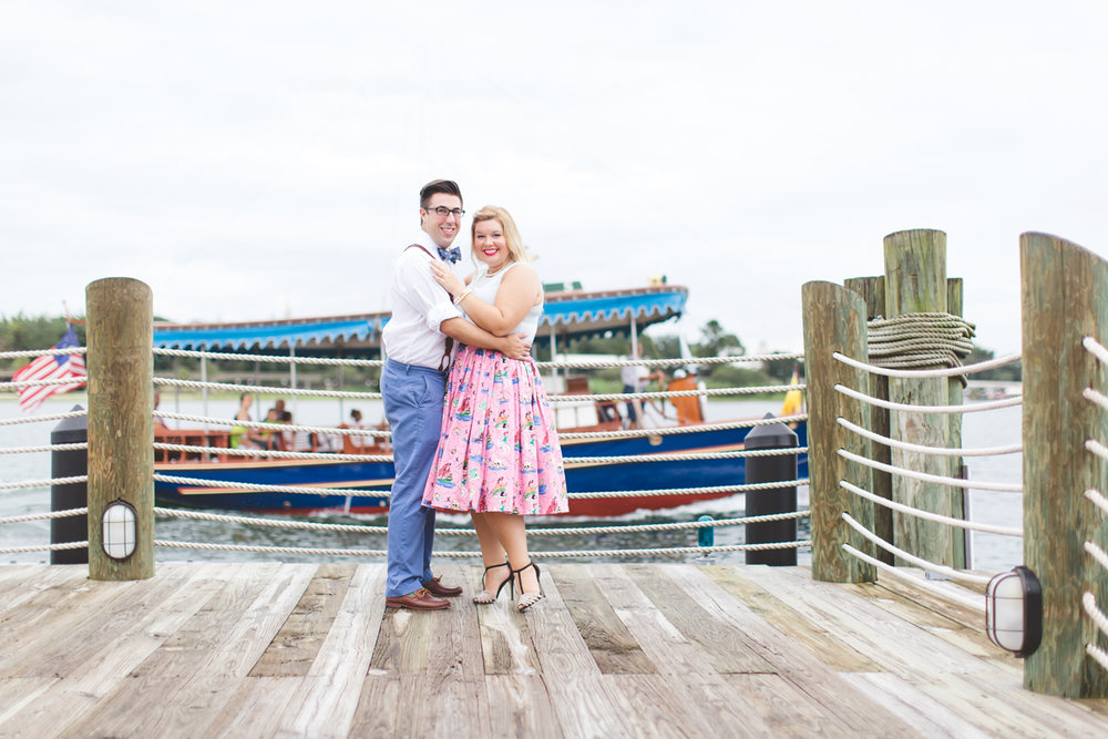 Disney engagement Session - Disney Engagement Photographer - Magic Kingdom Engagement Photos - Jaime DiOrio - Destination Orlando Wedding Photographer (23).jpg