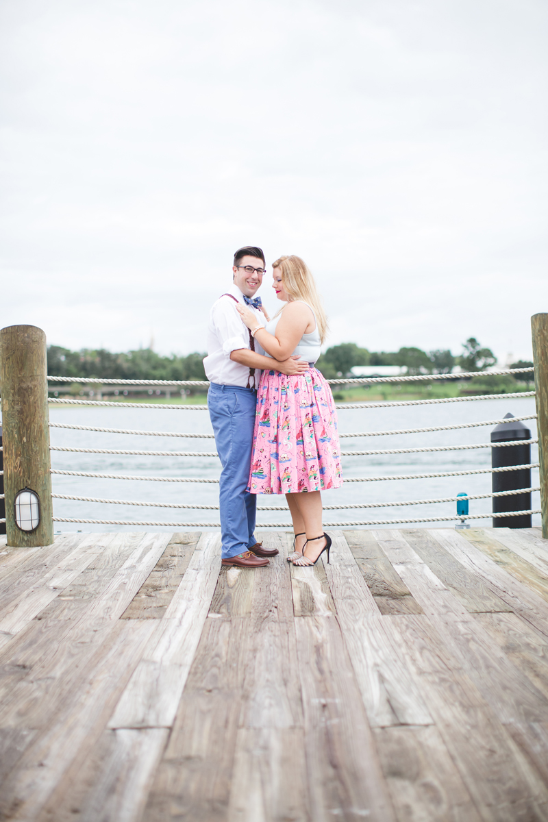 Disney engagement Session - Disney Engagement Photographer - Magic Kingdom Engagement Photos - Jaime DiOrio - Destination Orlando Wedding Photographer (24).jpg