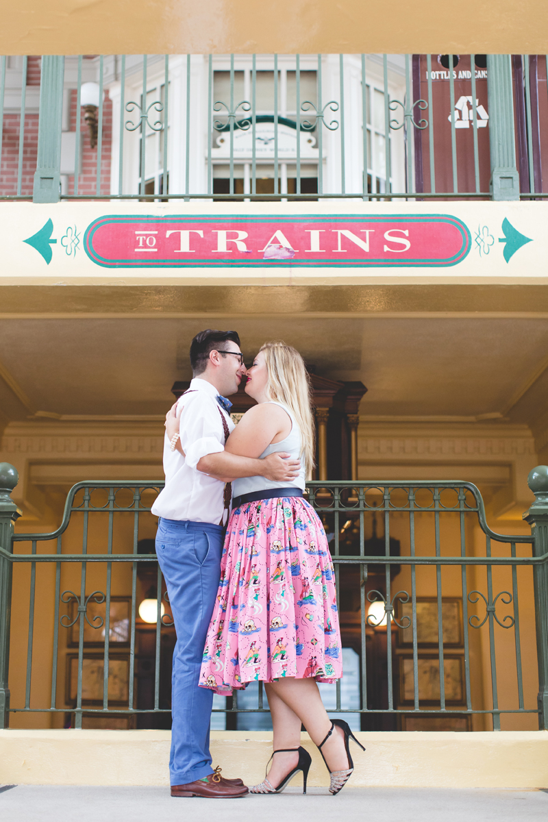 Disney engagement Session - Disney Engagement Photographer - Magic Kingdom Engagement Photos - Jaime DiOrio - Destination Orlando Wedding Photographer (36).jpg