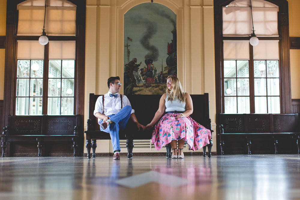 Disney engagement Session - Disney Engagement Photographer - Magic Kingdom Engagement Photos - Jaime DiOrio - Destination Orlando Wedding Photographer (43).jpg