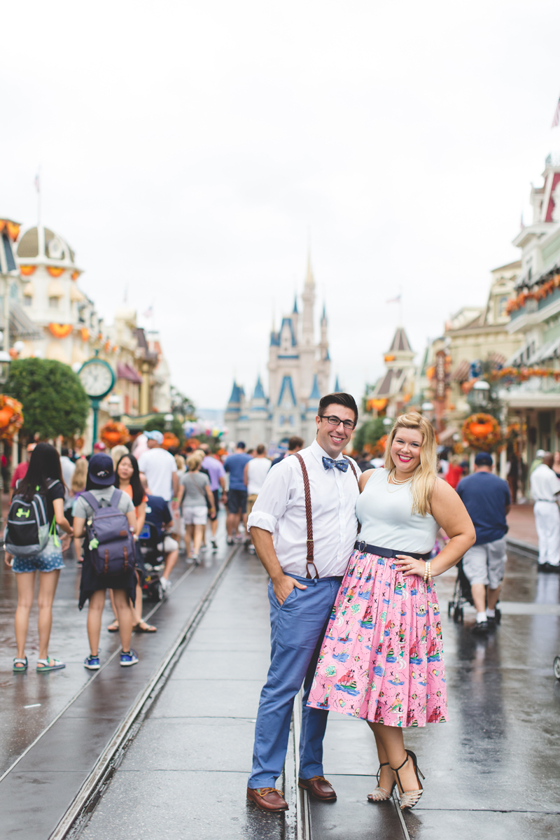 Disney engagement Session - Disney Engagement Photographer - Magic Kingdom Engagement Photos - Jaime DiOrio - Destination Orlando Wedding Photographer (45).jpg
