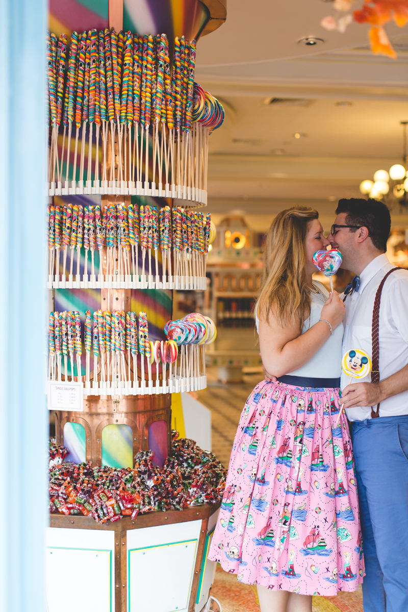 Disney engagement Session - Disney Engagement Photographer - Magic Kingdom Engagement Photos - Jaime DiOrio - Destination Orlando Wedding Photographer (57).jpg