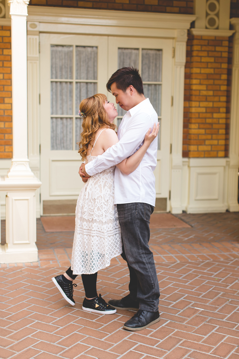 Disney Honeymoon session - Disney Engagement Photos - Disney Wedding Photographer - Destination Orlando Wedding Photographer - Jaime DiOrio (4).jpg