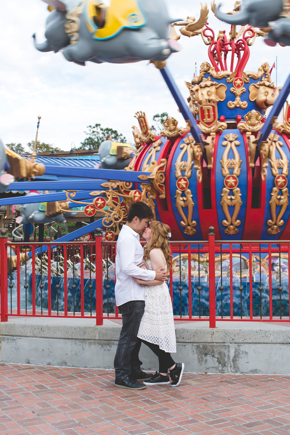 Disney Honeymoon session - Disney Engagement Photos - Disney Wedding Photographer - Destination Orlando Wedding Photographer - Jaime DiOrio (30).jpg