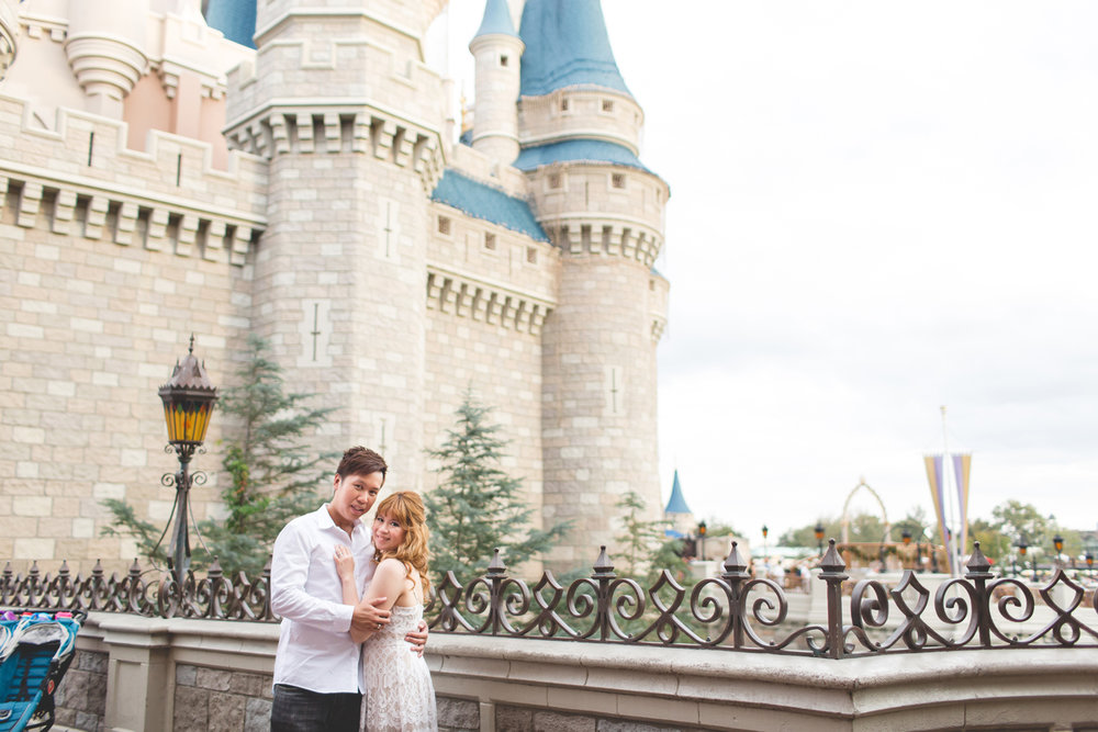 Disney Honeymoon session - Disney Engagement Photos - Disney Wedding Photographer - Destination Orlando Wedding Photographer - Jaime DiOrio (41).jpg