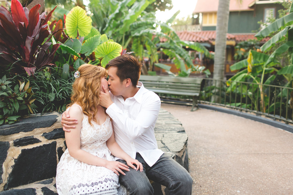 Disney Honeymoon session - Disney Engagement Photos - Disney Wedding Photographer - Destination Orlando Wedding Photographer - Jaime DiOrio (48).jpg