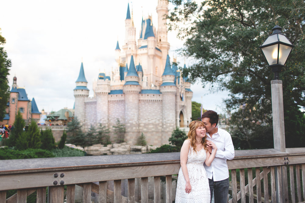 Disney Honeymoon session - Disney Engagement Photos - Disney Wedding Photographer - Destination Orlando Wedding Photographer - Jaime DiOrio (59).jpg