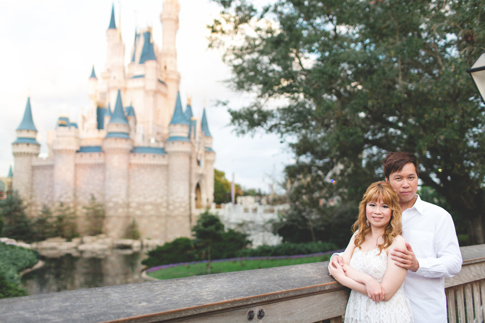 Disney Honeymoon session - Disney Engagement Photos - Disney Wedding Photographer - Destination Orlando Wedding Photographer - Jaime DiOrio (60).jpg