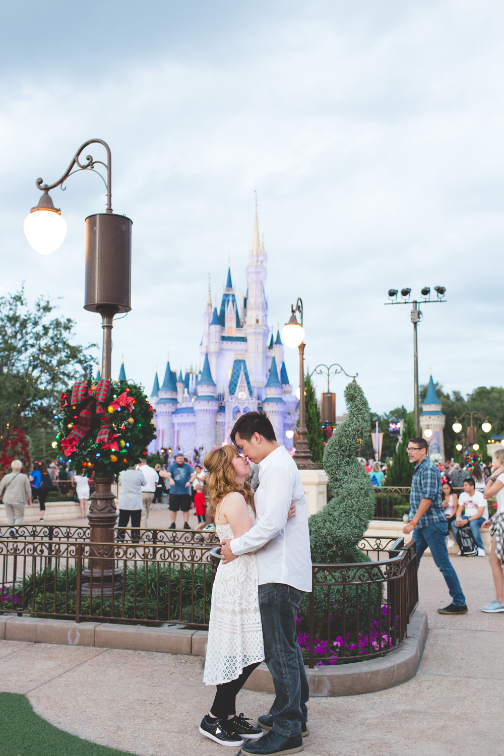 Disney Honeymoon session - Disney Engagement Photos - Disney Wedding Photographer - Destination Orlando Wedding Photographer - Jaime DiOrio (83).jpg