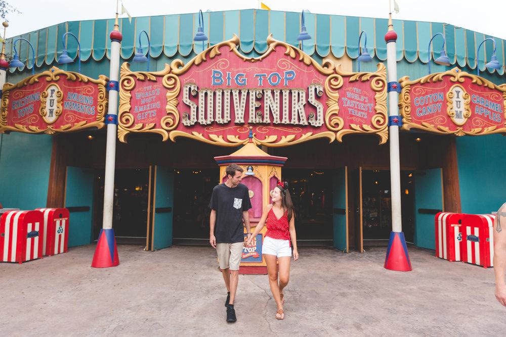 Disney Engagement photo at Magic Kingdom