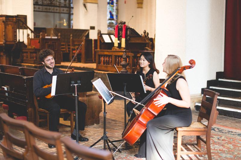 Knowles Memorial Chapel Wedding