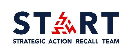 Recall START logo