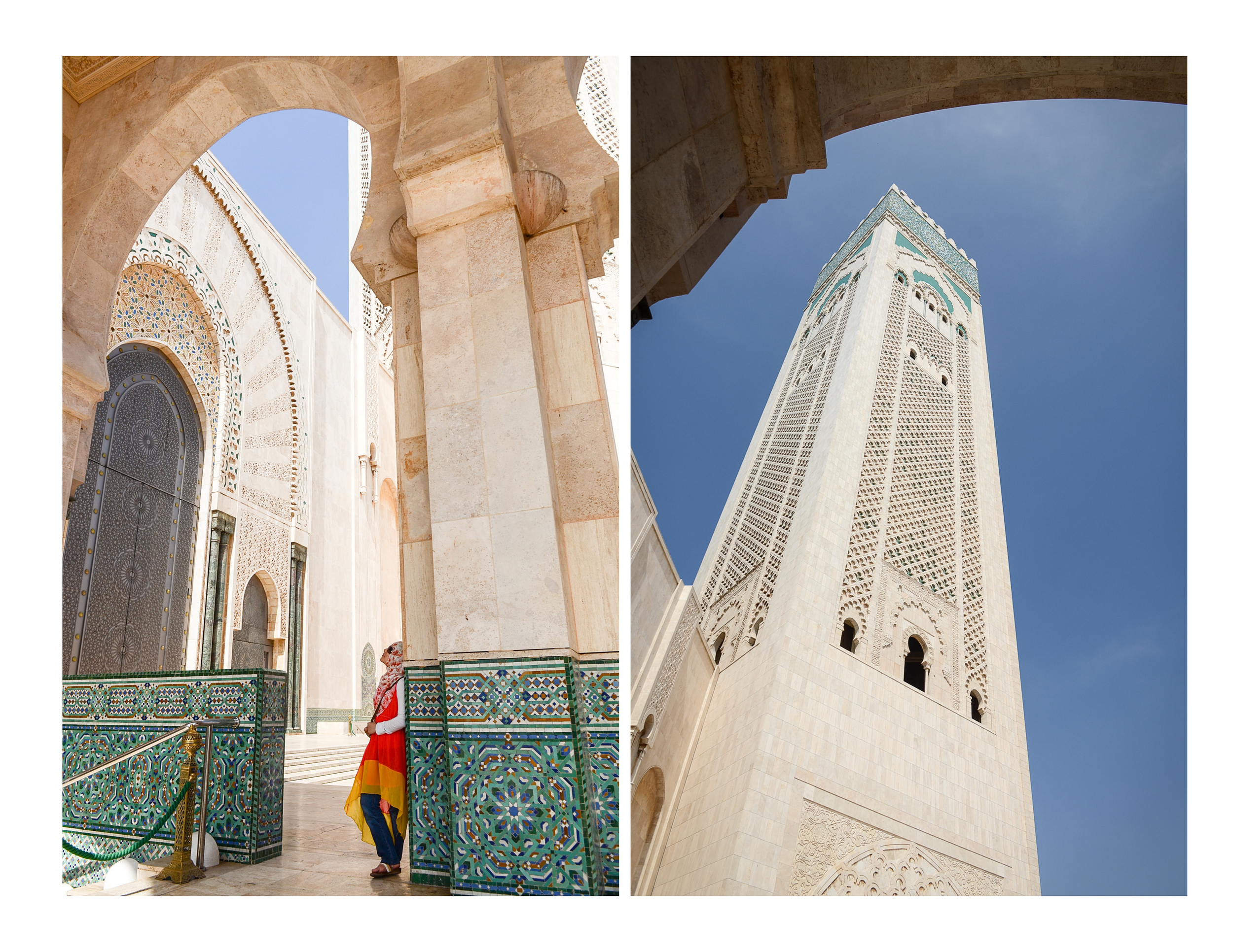 Casablanca - batoul standing