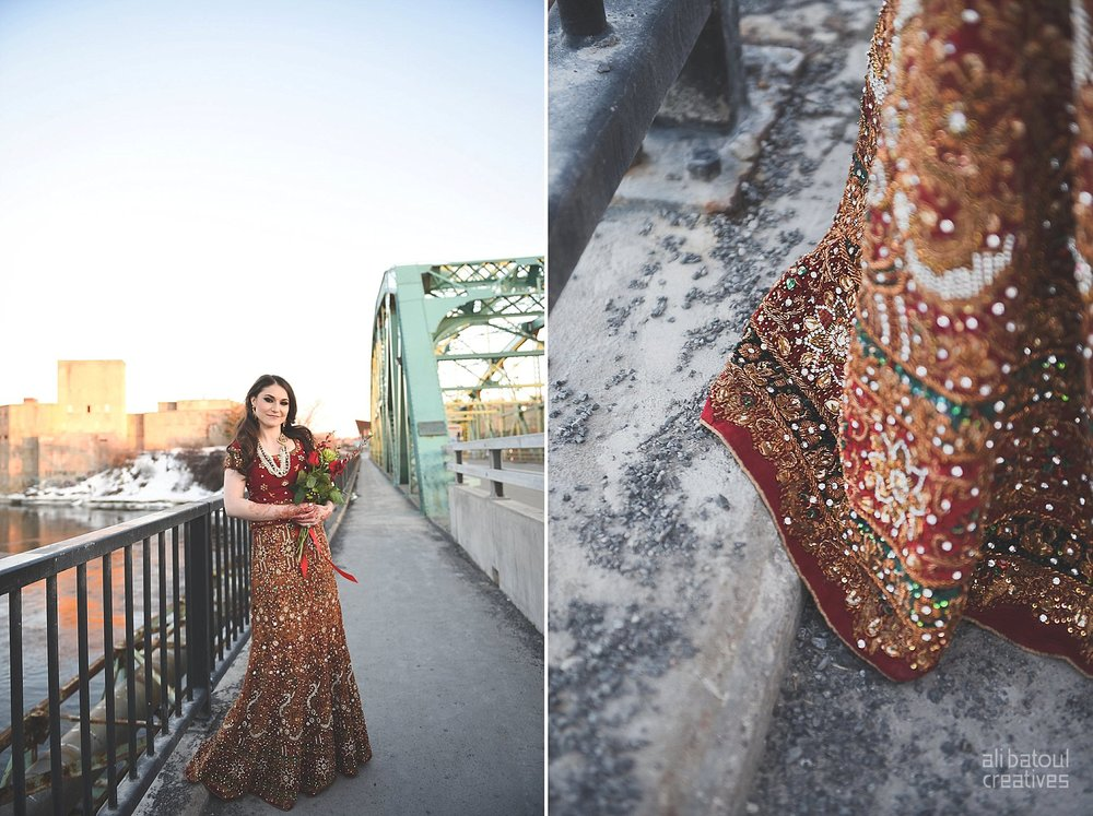 Indian-inspired bridal shoot - Ali Batoul Creatives (red)-28_Red Dress (BTS)