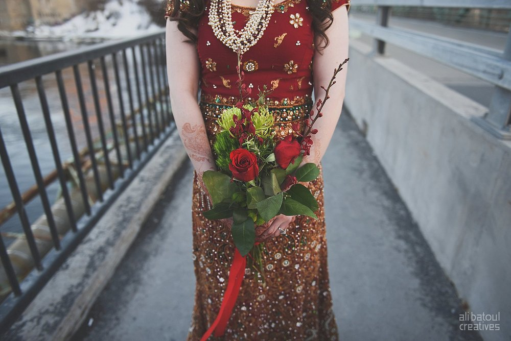 Indian-inspired bridal shoot - Ali Batoul Creatives (red)-30_Red Dress (BTS)