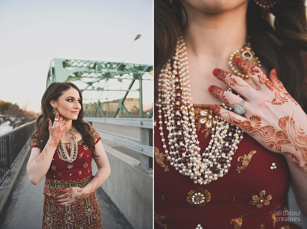 Indian-inspired bridal shoot - Ali Batoul Creatives (red)-31_Red Dress (BTS)