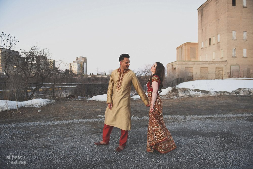 Indian-inspired bridal shoot - Ali Batoul Creatives (red)-118_Red Dress (BTS)