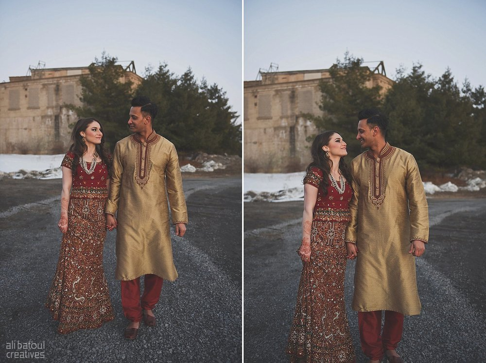 Indian-inspired bridal shoot - Ali Batoul Creatives (red)-154_Red Dress (BTS)