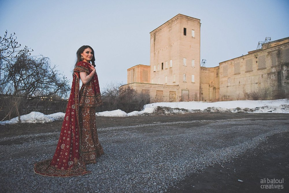 Indian-inspired bridal shoot - Ali Batoul Creatives (red)-248_Red Dress (BTS)