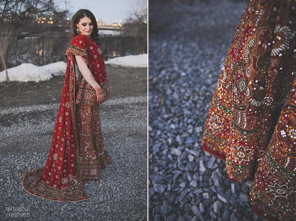 Indian-inspired bridal shoot - Ali Batoul Creatives (red)-249_Red Dress (BTS)