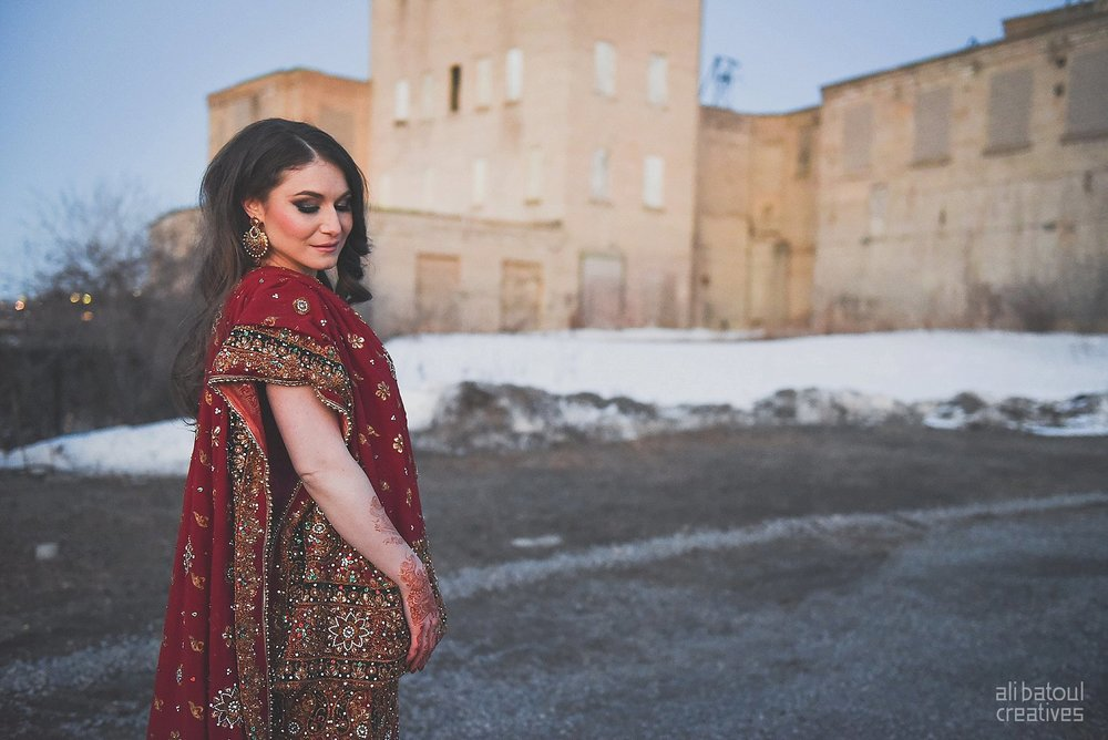Indian-inspired bridal shoot - Ali Batoul Creatives (red)-252_Red Dress (BTS)