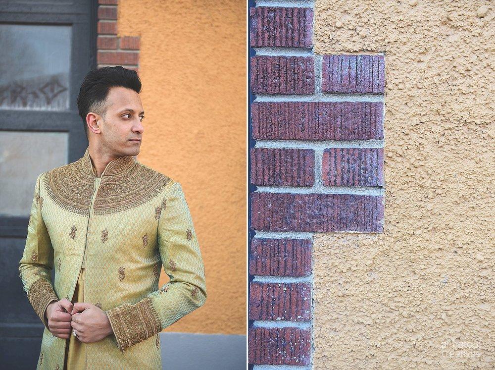 Indian-inspired bridal shoot - Ali Batoul Creatives-15_Green_Red Dress (BTS)